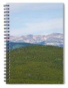 Colorado Continental Divide 5 Part Panorama 1  Spiral Notebook