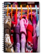 Colorful Coats Spiral Notebook