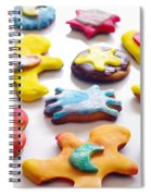 Colorful Cookies Spiral Notebook