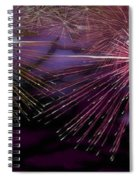 Colorful Fireworks  Spiral Notebook