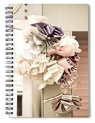 Colorful Ribbons Spiral Notebook