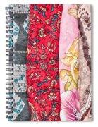 Colorful Scarves Spiral Notebook