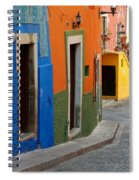 Colorful Street, Mexico Spiral Notebook