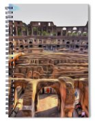 Colosseum In Rome Spiral Notebook