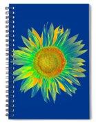 Colourful Sunflower Spiral Notebook