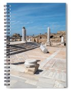 Columns In Archaeological Site Spiral Notebook
