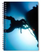 Commercial Diver At Work Spiral Notebook