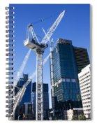 Construction City Spiral Notebook