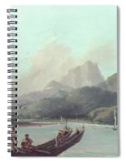 Cook Tahiti, 1773 Spiral Notebook