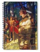 Cooper: Deerslayer, 1925 Spiral Notebook