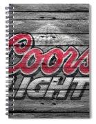 Coors Light Spiral Notebook
