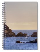 Corbiere Lighthouse - Jersey Spiral Notebook