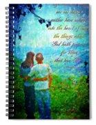 1 Corinthians 2 9 Spiral Notebook