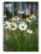 Corn Chamomile Spiral Notebook