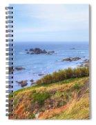 Cornwall - Lizard Spiral Notebook