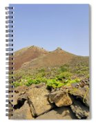 Corona Volcano On Lanzarote Spiral Notebook