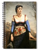 Corot's Agostino Spiral Notebook
