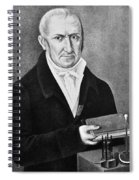 Count Alessandro Volta (1745-1827) Spiral Notebook