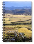 Country Scenic Spiral Notebook