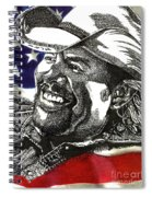 Courtesy Of The Red White And Blue Spiral Notebook