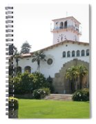 Courthouse Santa Barbara Spiral Notebook