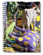 Cow Tipping Spiral Notebook