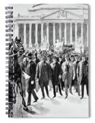 Coxey's Army, 1894 Spiral Notebook