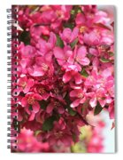 Crabapple Tree Named Prairiefire Spiral Notebook