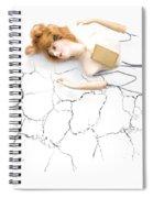 Cracked And Broken Spiral Notebook