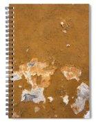 Cracked Stucco - Grunge Background Spiral Notebook