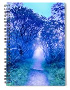 Craggy Gardens North Carolina Blue Ridge Parkway Autumn Nc Sceni Spiral Notebook