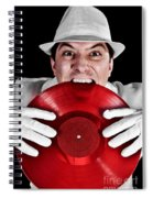 Crazy Dj Spiral Notebook