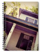 Creepy Old House Spiral Notebook