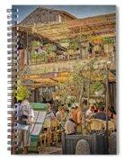 Creperie Restaurant Carcassonne Dsc01697 Spiral Notebook