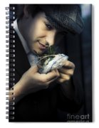 Criminal With Weeds And Green Grass Spiral Notebook