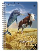 Crop Circles Explained Spiral Notebook