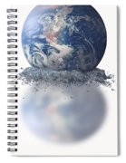 Crumbling Earth Spiral Notebook