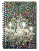 Crystal Chandelier Spiral Notebook