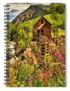 Crystal Mill Wildflowers Spiral Notebook