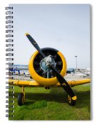 North American T-6 Texan Spiral Notebook