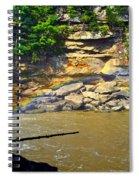 Cumberland Falls Rainbow Spiral Notebook