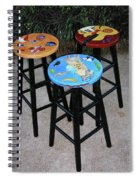 Custom Barstools Spiral Notebook