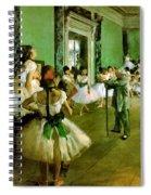 Dance Class  Spiral Notebook