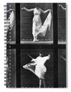Dancing Woman Spiral Notebook