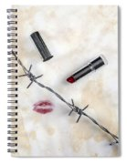 Dangerous Kisses Spiral Notebook