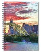 Daniel C Beard Bridge In Cincinati  B9925 Spiral Notebook