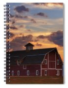 Danny's Barn Spiral Notebook