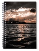 Dark Tranquility Spiral Notebook
