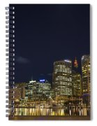 Darling Harbour In Sydney Australia Spiral Notebook