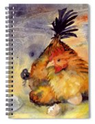 Day Old Chicks Spiral Notebook